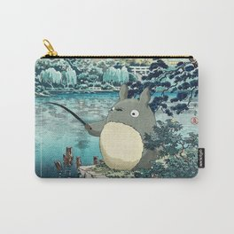 Japanese woodblock mashup Carry-All Pouch