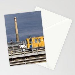 Yellow Train - Berlin Stationery Cards