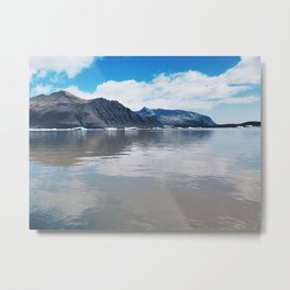 Glacial Melt in Eastern Iceland Metal Print