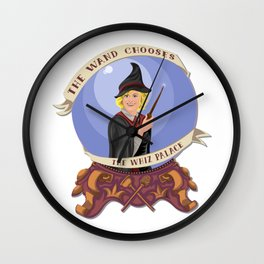The Wand Chooses the Whiz Palace Wall Clock