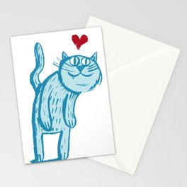 Luuuurv Cat Stationery Cards