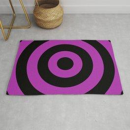 Target (Black & Purple Pattern) Rug