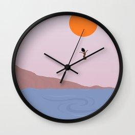 Descent // Lament Wall Clock
