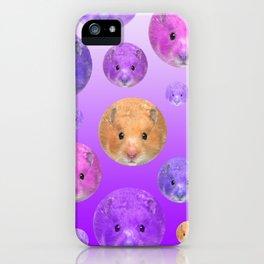 Hamster illustration original painting print iPhone Case