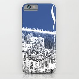 On this side of the wall iPhone Case