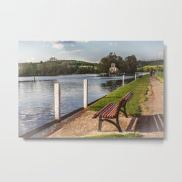 The First Quarter Mile Metal Print