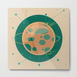 Planet C - Trappist System Metal Print