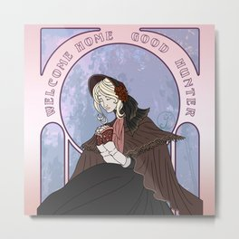 Bloodborne art nouveau - the Doll welcome Home Metal Print