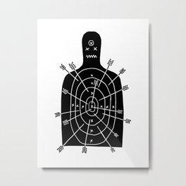 arch arrow Metal Print