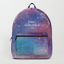 I am a child of God, 1 John 3:1 Backpack