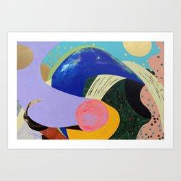 VIVID DREAM no.2 Art Print