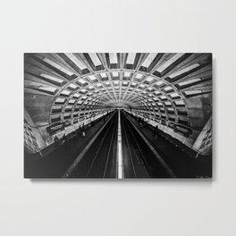 The Underground Metal Print