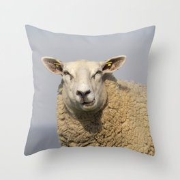 Lamb shank? The times are long gone ... Throw Pillow