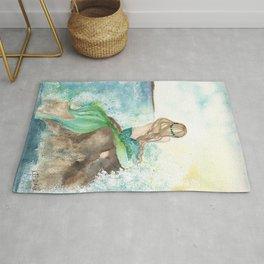 Summer Mermaid Rug