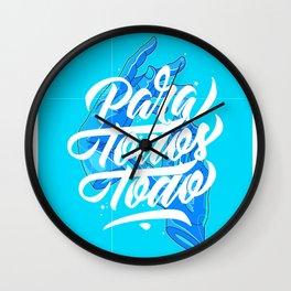 Para Todos Todo - Flume Wall Clock
