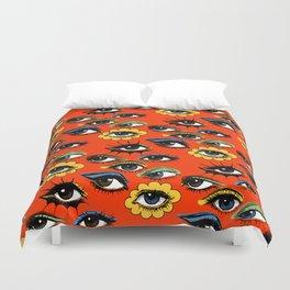 60s Eye Pattern Bettbezug