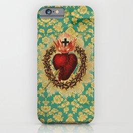 Sacred Heart LOVE iPhone Case
