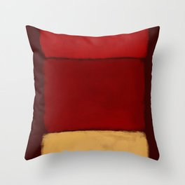 Rothko Inspired #28 Throw Pillow