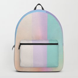 Abstract Pastel Backpack