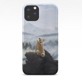 The Wanderer Above the Sea of Doge iPhone Case
