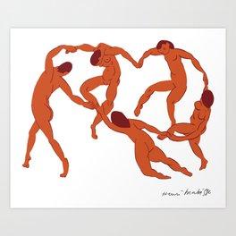 Henri Matisse - La Danse (The Dance) - Artwork Reproduction for - Wall Art, Prints, Posters, Canvas Art Print