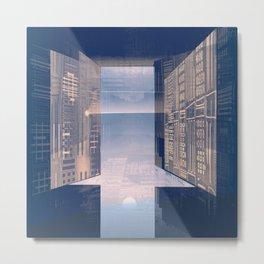 Room -A- Post Biological Era Metal Print