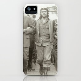 Che Guevara, Fidel Castro and Revolutionaries iPhone Case