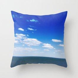 Cool Skies Throw Pillow