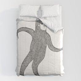 Bigfoot Doing The Wave Comforters