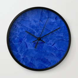 Pretty Blue Cases - Ombre - Stucco - Pillow - Classic Blue - Shower Curtains Wall Clock