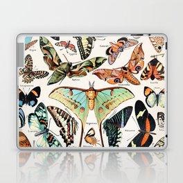 Adolphe Millot - Papillons pour tous - French vintage poster Laptop & iPad Skin