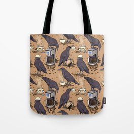 Corvids & Coffee Tote Bag