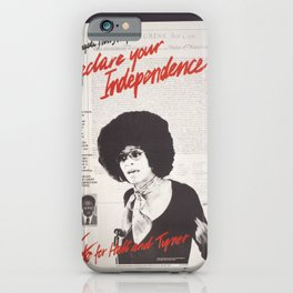 Vintage Poster - Declare Your Independence: Vote for Hall and Tyner (1976) iPhone Case