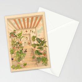 Houseplants Stationery Cards