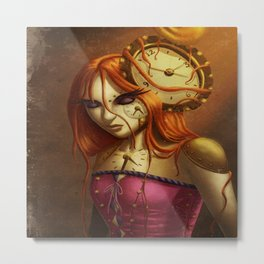 """""""Time After Time..."""" Metal Print"""