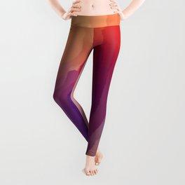 Red Glow Leggings