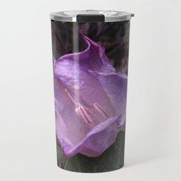 Lavender Wildflower Travel Mug