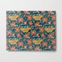 Apple Blossom Butterfly (Spirit) Metal Print