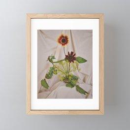Two Suns Framed Mini Art Print