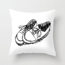 SHOE STILL LIFE Throw Pillow