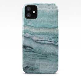 Mystic Stone Aqua Teal iPhone Case