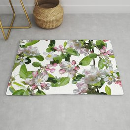Blossom in delicate shades of pink Rug