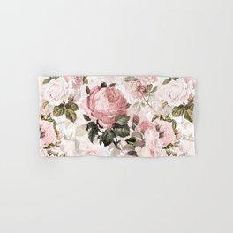 Vintage & Shabby Chic - Sepia Pink Roses  Hand & Bath Towel