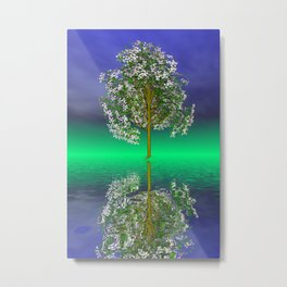 just a fancy tree -3- Metal Print