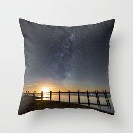 Star Wharf Throw Pillow