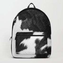 Modern Cowhide Backpack