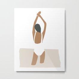Woman in swimsuit Metal Print