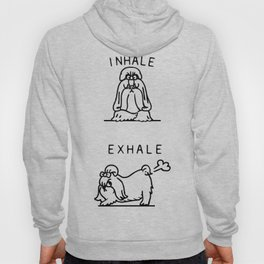 Inhale Exhale Shih Tzu Hoody