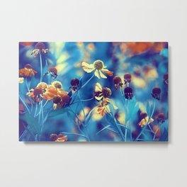 September Flowers Metal Print