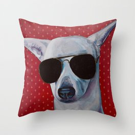 Sasha Fierce too Cool for School Throw Pillow